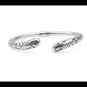 NWT Gorgeous Sterling Silver Scroll Cuff Bracelet!
